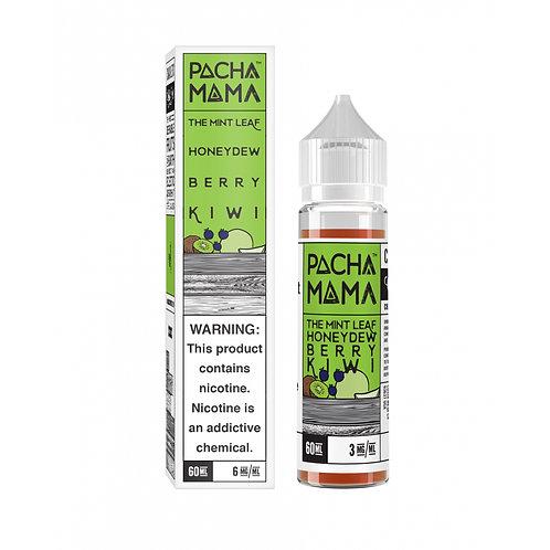 Pacha Mama - The Mint Leaf, Honeydew, Berry and Kiwi (60ml Shortfill)