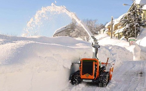 Slope Mower Snow Blower
