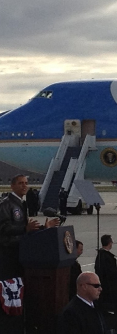 Lighting President Obama