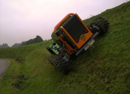 Green Climber Slope Mower