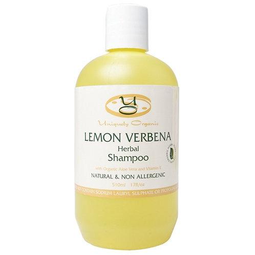 Uniquely Organics Lemon Verbena Herbal Shampoo
