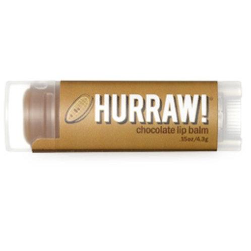 Hurraw! Lip Balm - Chocolate 4.3g, 0.15oz each