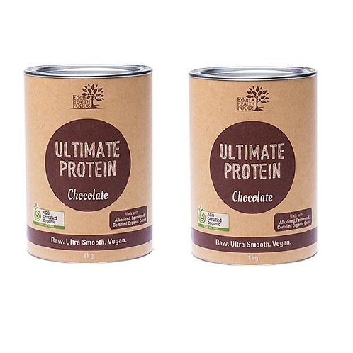 Ultimate Protein Chocolate flavour, 2 packs 1kg ea