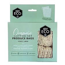 everECO Cotton Produce Bags