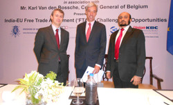 With His Excellency the Ambassador of European Union to India Dr.Cravinho and Hi