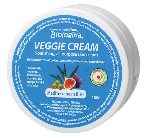 Biologika Veggie Cream Meditterean Bliss, 100g