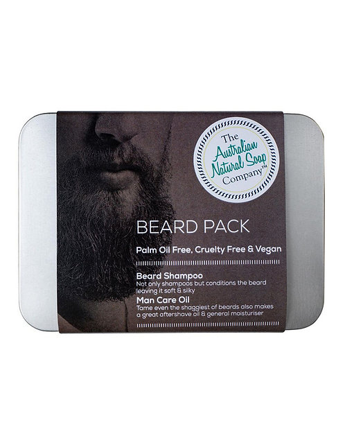 Aust. Nat. Soap Co. Beard Box