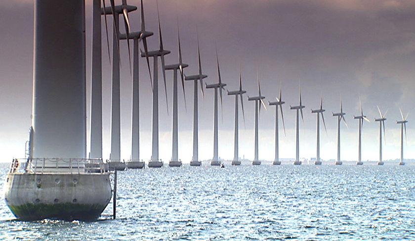 Windfarms in Denmark