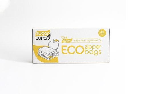 Sugarwrap Eco Zipper Bags Small