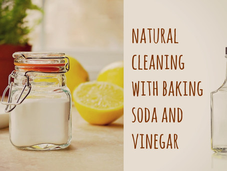 AMAZING WAYS TO CLEAN WITH BAKING SODA AND VINEGAR