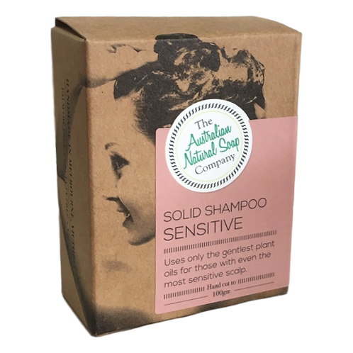 Solid Shampoo for Sensitive Scalp