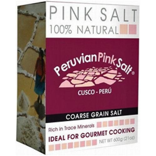 Peruvian Pink Salt Course Grain, 600g