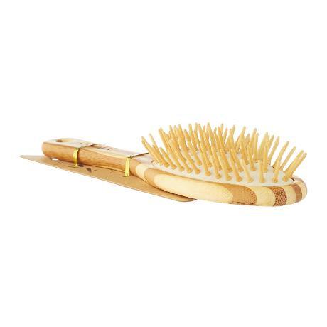 MiEco Bamboo Hair Brush Massage Scalp, Kid Small