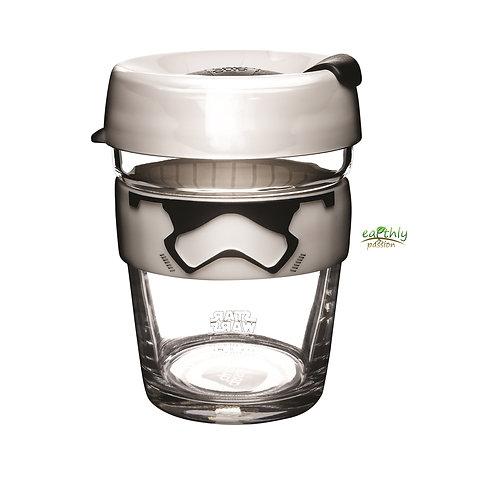 KeepCup Star Wars Stormtrooper Brew Glass Coffee Cup, 12oz