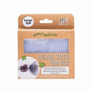 Little Mashies Reusable Stretch Silicone Food Wraps