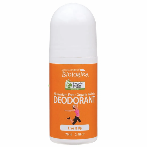 Organic Deodorant Biologika Live it up Roll On