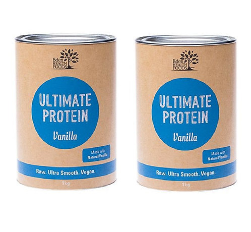 Ultimate Protein Vanilla flavour, 2 packs 1kg each