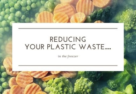 Reducing your plastic waste…                  in the freezer.