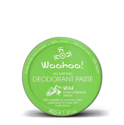 Woohoo All Natural Deodorant Paste (Wild)