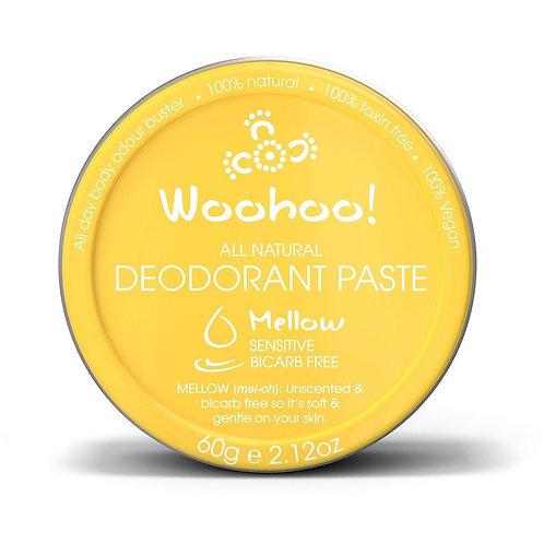 Woohoo All Natural Deodorant Paste (Mellow)