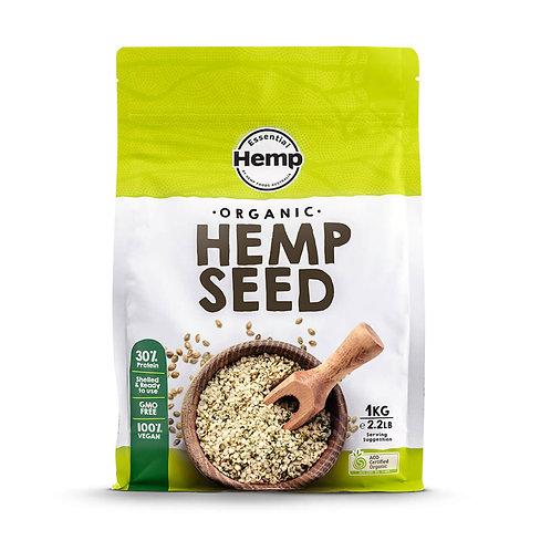 Organic Hemp Seeds, 1kg per pack