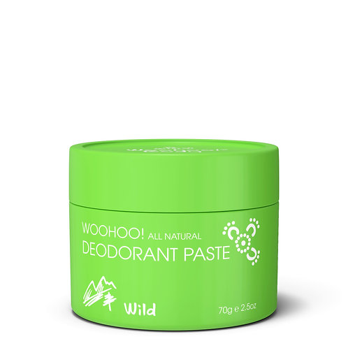Woohoo All Natural Deodorant Paste (Wild)