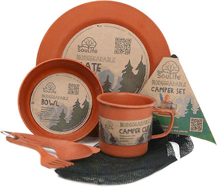 EcoSouLife Camper Set, Orange