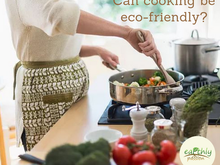 CAN COOKING BE ECO-FRIENDLY?