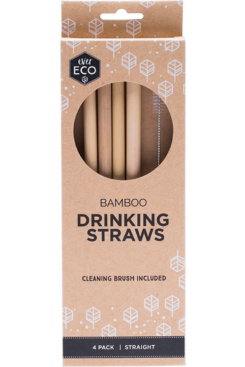 ever ECO Bamboo Drinking Straws