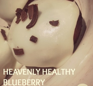 HEAVENLY HEALTHY BLUEBERRY DOUGHNUTS