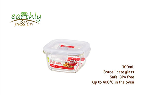 Lock & Lock Food Glass Container 300mL