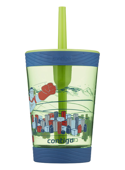 Contigo Spill Proof Tumbler Superhero, 414mL, 14oz
