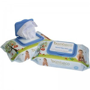 Bambure Natural Baby Wipes Bulk Organic Extracts