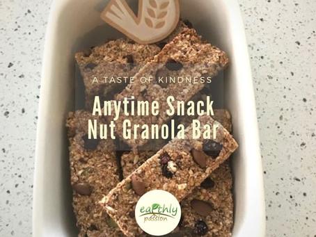 Anytime Snack Nut Granola Bar