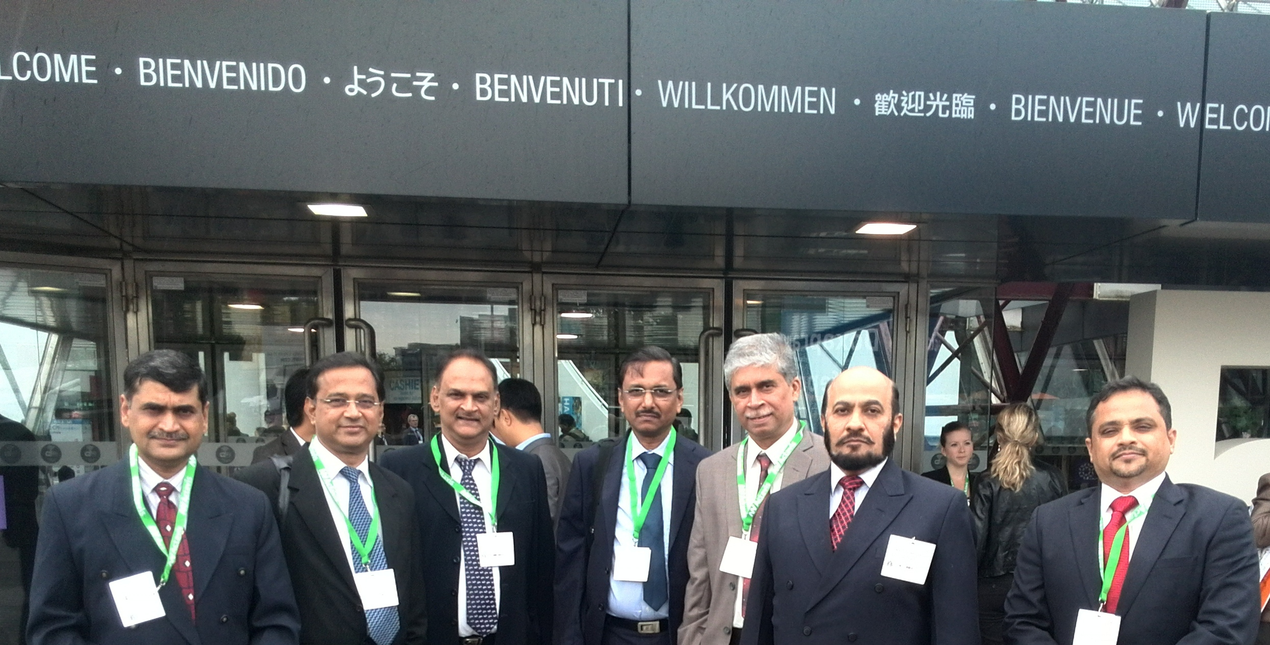 With Indian delegation at Paris.jpg