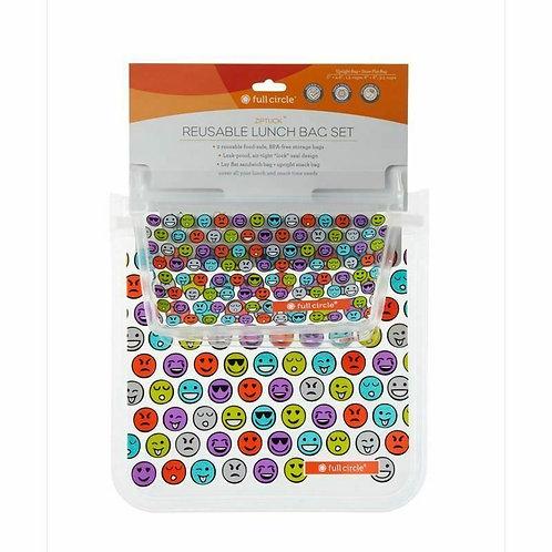 Full Circle Reusable Lunch Bag Set