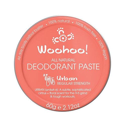 Woohoo All Natural Deodorant Paste (Urban)