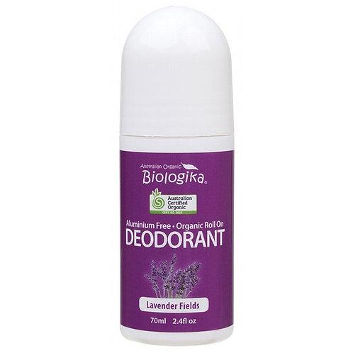 Organic Deodorant Biologika Lavender Field Roll On