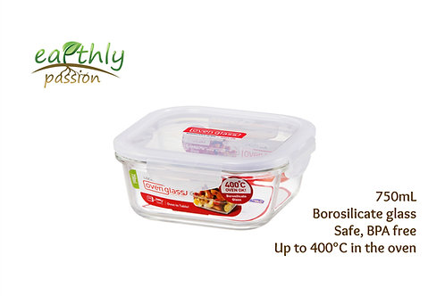 Lock & Lock Food Glass Container 750mL