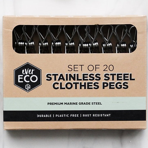 EverEco Stainless Steel Pegs