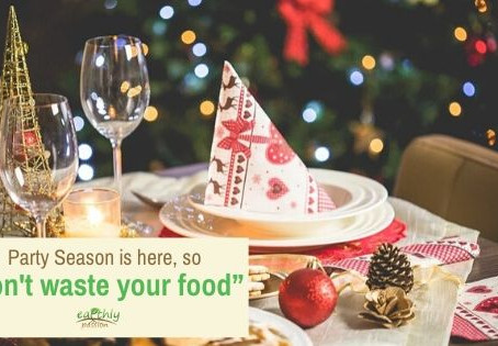 "Party Season is here, so ""Don't waste your food"""