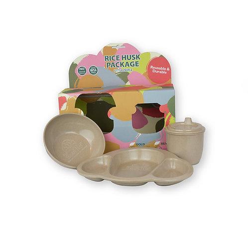 EcoSouLife Baby/Toddler Dinner Set