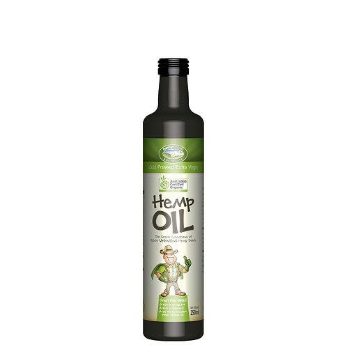 Organic Cold-pressed Hemp Seed Oil 250ml/bottle
