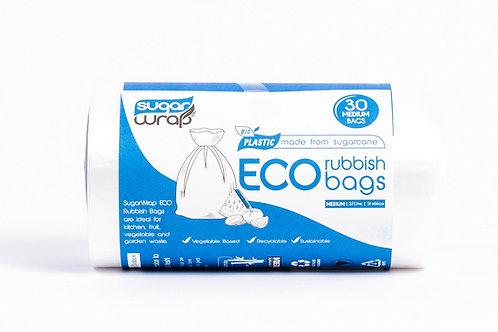 Sugarwrap Eco Rubbish Bags Medium