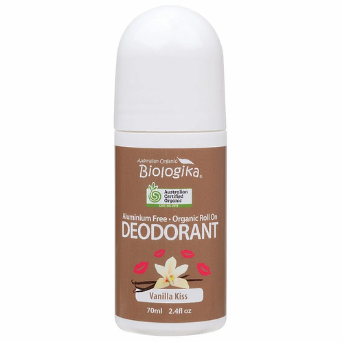 Organic Deodorant Biologika Vanilla Kiss Roll On