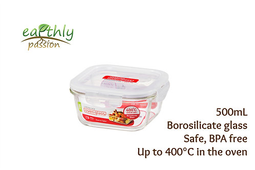 Lock & Lock Food Glass Container 500mL
