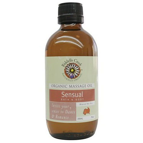 Riddells Creek Sensual Massage Oil Bath & Body