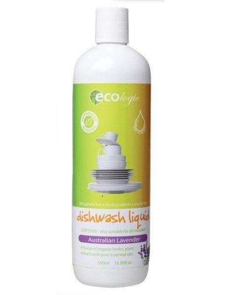 ECOlogic Organic Dishwashing Detergent, lavender