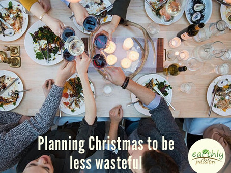 Planning Christmas to be less wasteful