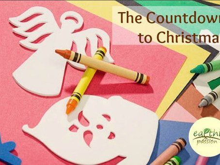 THE COUNTDOWN TO CHRISTMAS...   and making the little things count.